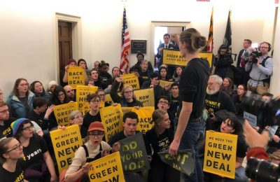 Powerful Democratic House member pledges support for a Green New Deal