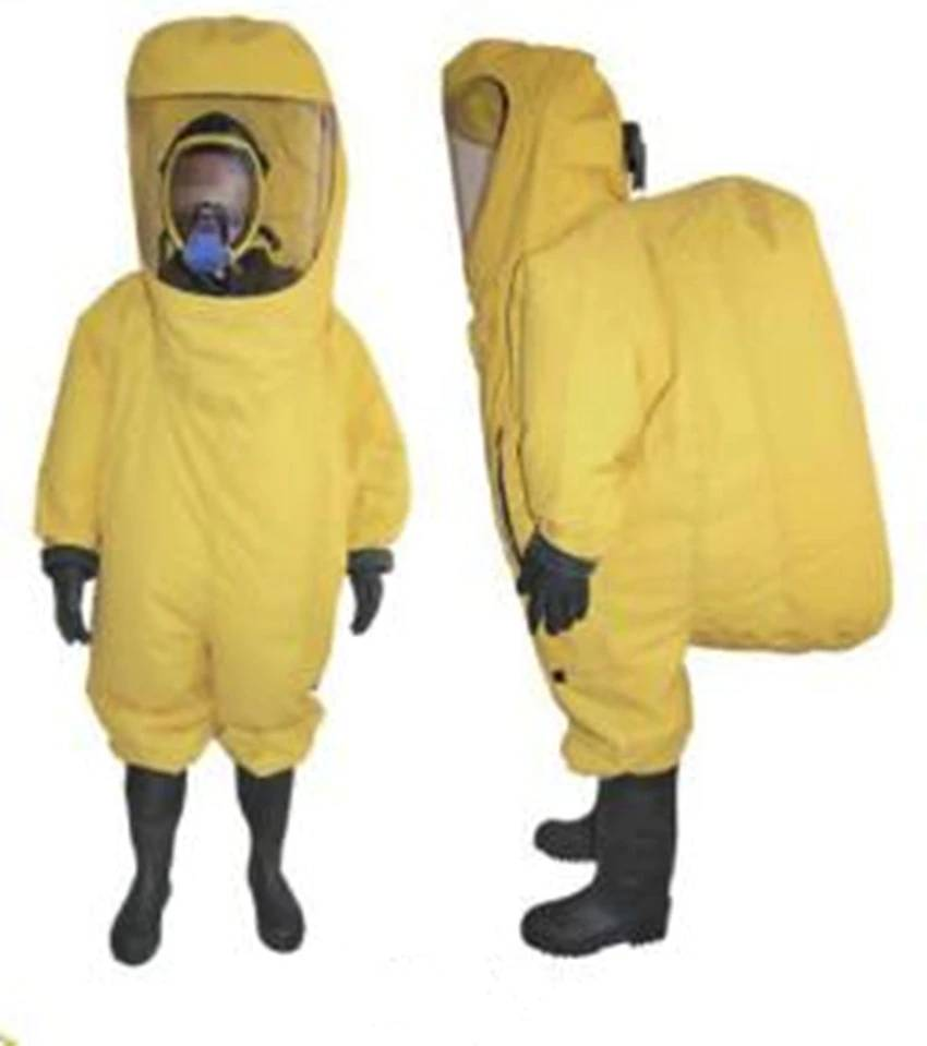 Yellow Chemical Suit